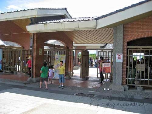 傳統藝術中心門口