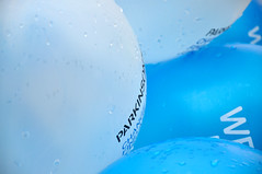 Parkinson's UK balloons