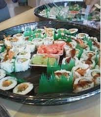 Sushi tasting