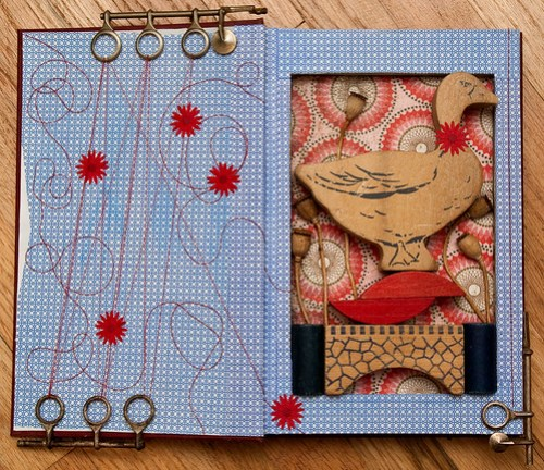 Altered Book: Gifts of the Goose