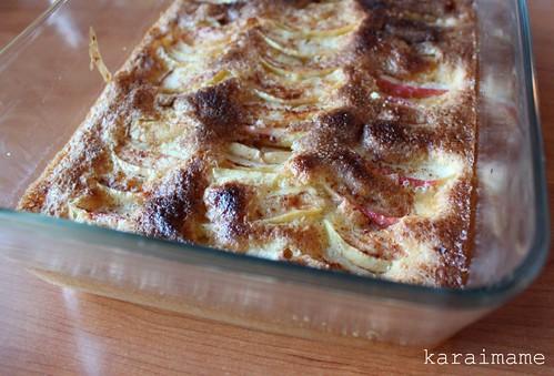 Gluten-free apple pie. Gluteeniton omenapiirakka