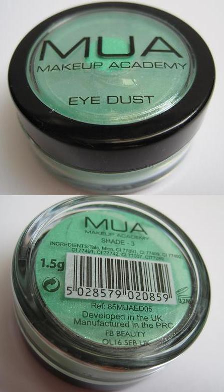 MUA Eye Dust Shade 3-1
