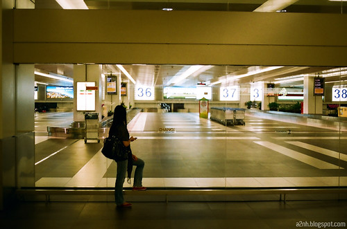Waiting @ Changi Airport