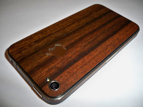 The Wood Grain iPhone 4