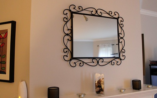 Mirror I got from Chris for Xmas