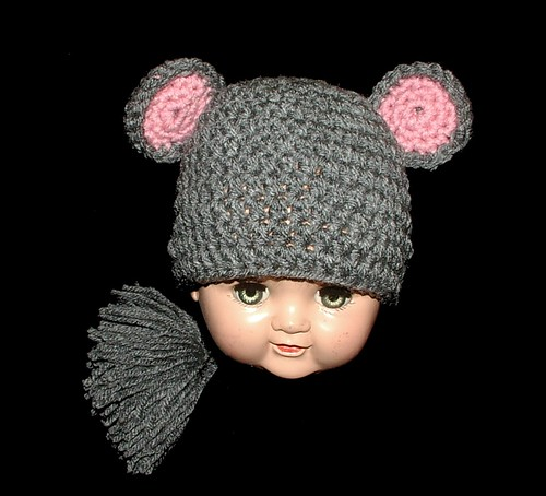 mouse hat front