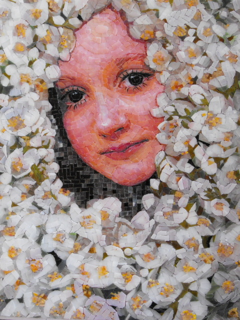 Mosaic Artist - Atsuko Laskaris - Secret Garden Mosaic