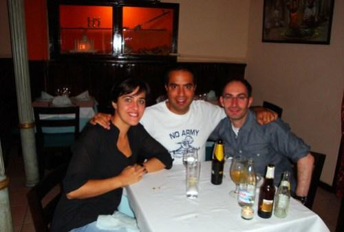 Susana, Nacho y Raúl