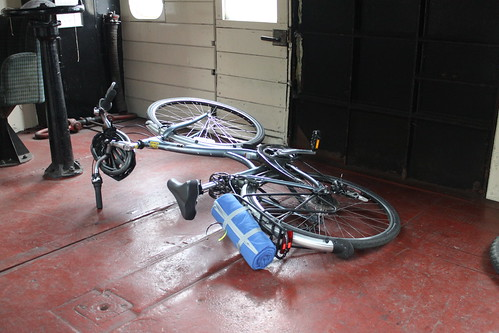 Bike space on the steam train