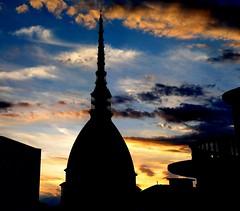 Mole Antonelliana e nuvole - questa è la vista dalla redazione ifnormatica di afNews - foto Goria, naturalmente. :-)