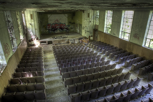Abandoned theatre, Hudson Valley