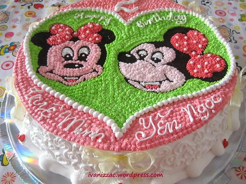 Minnie cake2