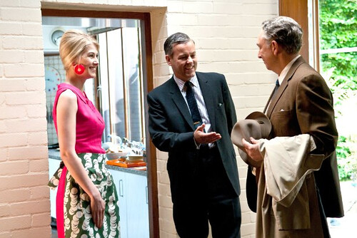 Rosamund Pike, Rupert Graves and Richard Schiff in Made in Dagenham