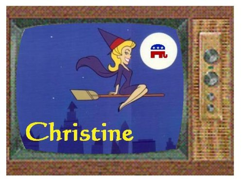 Christine O'Donnell -- As Seen on TV!