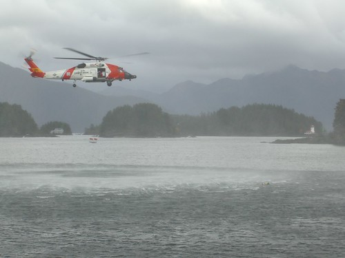 Coast Guard Rescue Demonstration