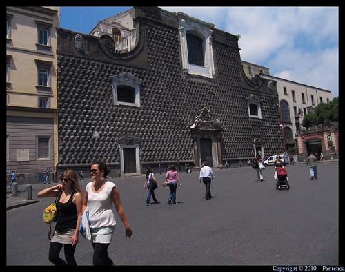 Naples : Chiesa del Gesù Nuovo - Church of Gesù Novo  2/5