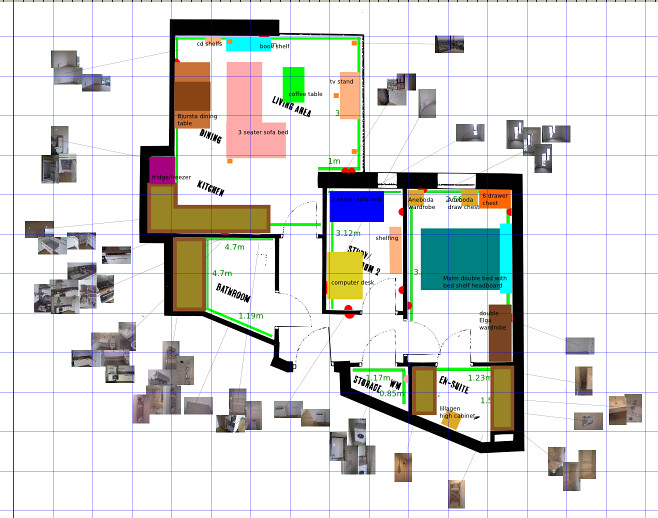 Plan of my flat