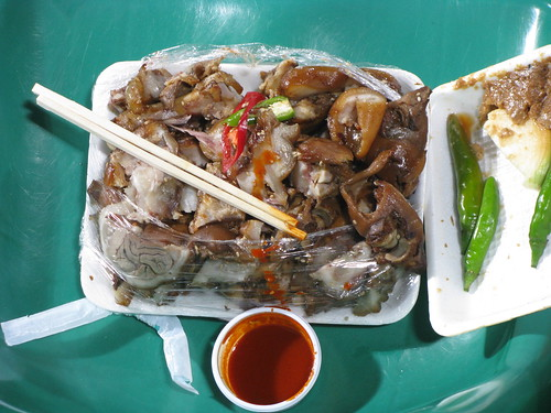 Korean Food Jokbal - Pigs Feet