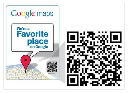 Google Place QR code