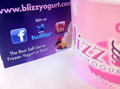 Blizz yogurt
