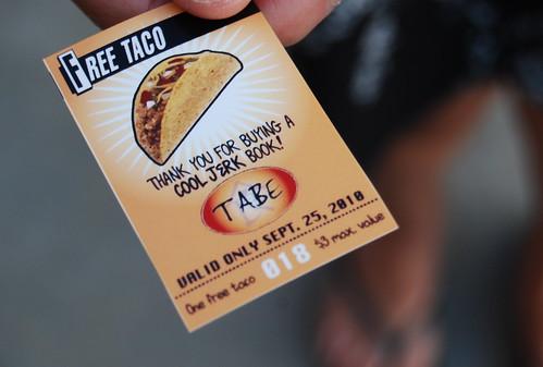 Free taco ticket