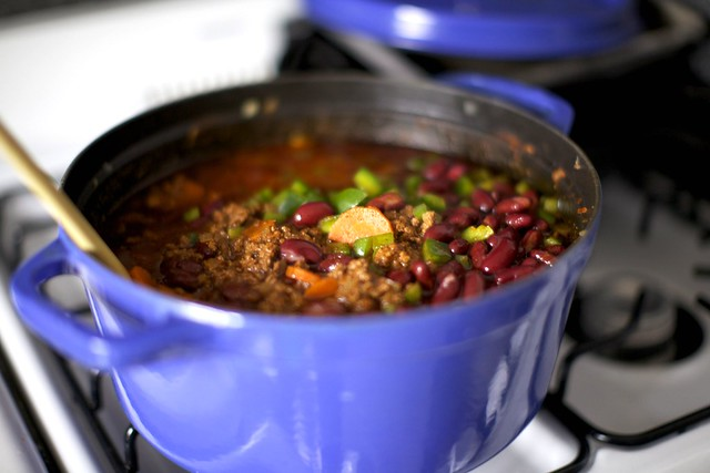 beef chili + sour cream and cheddar biscuits – smitten kitchen