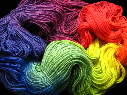 Rainbow - BFL Worsted
