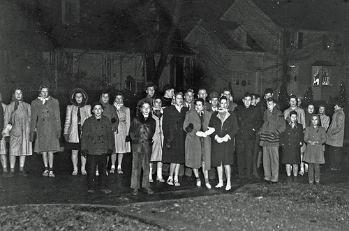 Christmas Season 1941 in Worthington, Ohio
