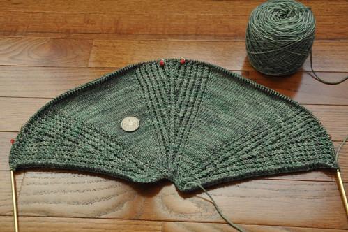 Larix shawl.
