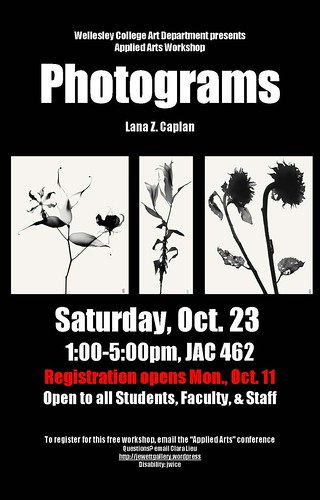 Photograms poster