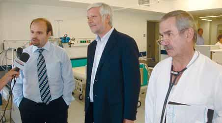 Επίσκεψη στο Νοσοκομείο Καλαμάτας