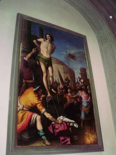 Martirio di San Sebastiano (Iacopo Chimenti detto l'Empoli)