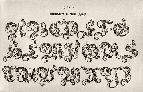 Resultado de imagem para letras góticas quando foram criadas