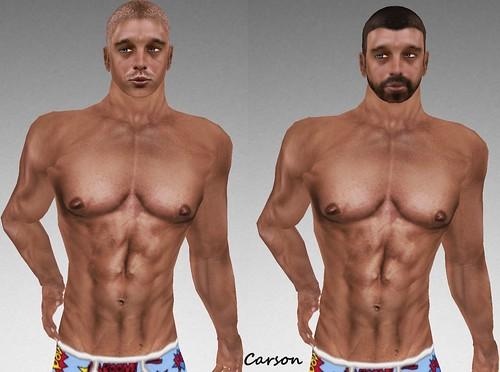 MHOH4 # 158 - TELLAQ AVATAR CREATIONS Robinson Skins and Shape