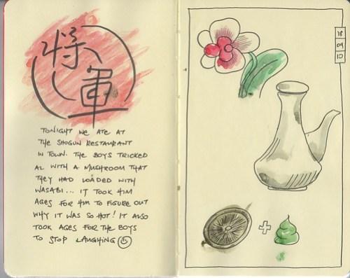 34-2010 // Shogun and hot mushrooms