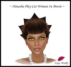 Natasha Play Cat Woman In Movie Final Ad BORDERED