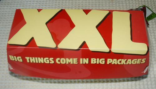 Taco Bell XXL Chalupa Box