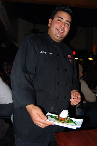 Anthony Sinsay with Harney Sushi