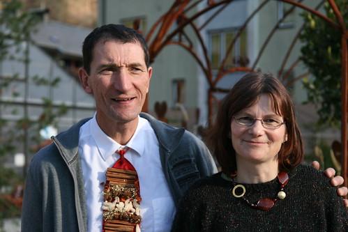 Birgit und Rainer von der Blumenwerkstatt Nekowitsch