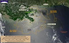Deepwater Horizon Oil Spill - MODIS/Aqua Detai...