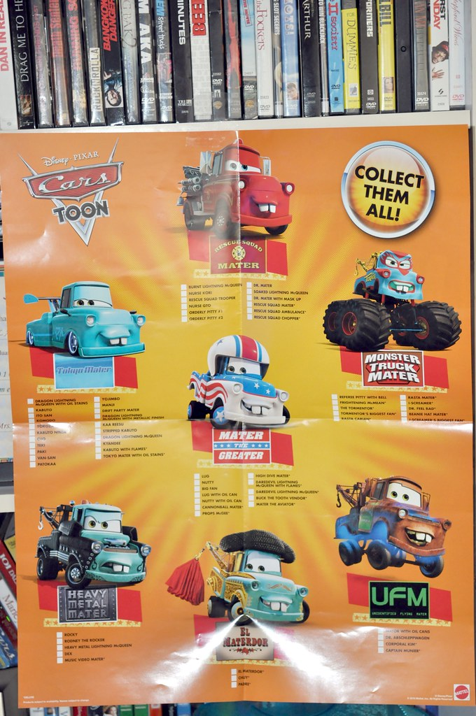 2010 sdcc disney CARS toon poster (2)