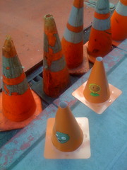 safety cones plus zombie safety cones