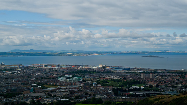 Another view from Arthur's Seat