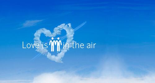 4996110834 a3024903d8 Love is in the air: cercasi coppia gay per nozze...a bordo dellAirbus A340