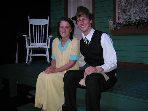 Robyn Brockerville and Bobby Hogan