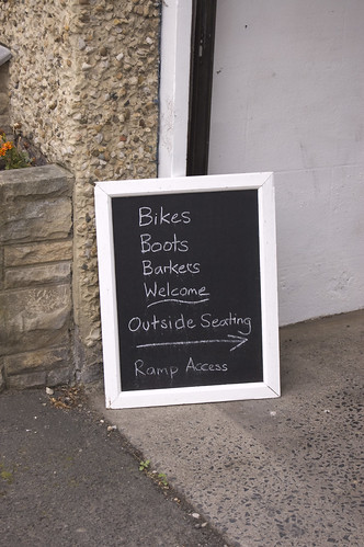 Bikes, boots and barkers