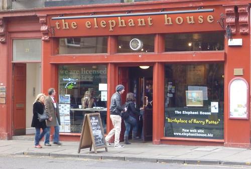 Edinburgh - The Elephant House