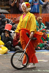 Clown with Unicycle