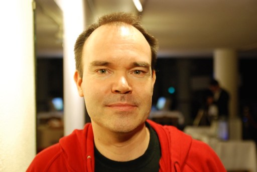 Peter Vesterbacka, CEO of Rovio (creators of Angrybirds, the game)