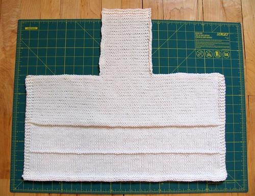 Pilgrim Bonnet, pre-assembly